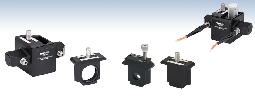 Multimode Fiber Optic Filter/Attenuator Mounts