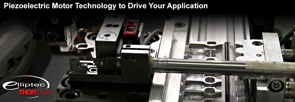 Piezoelectric Motors, Elliptec™ Technology: OEM and Manufacturing Capabilities