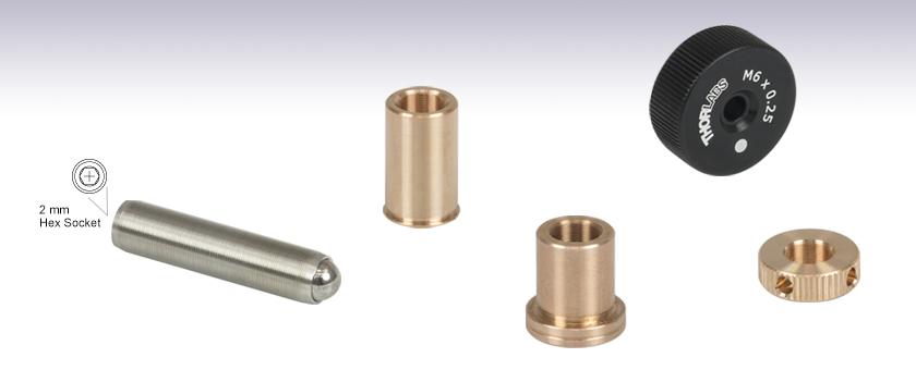 Thread Size M6-1 FastenerParts Set Screw 18-8 Stainless Steel