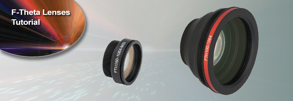 F-Theta Lenses Tutorial