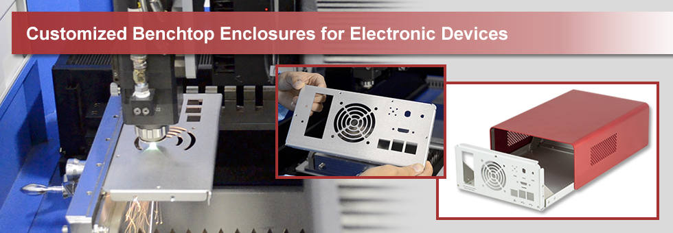 Custom Benchtop Enclosures Manufacturing