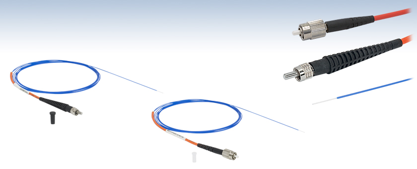 Multimode fcpc or sma to bare fiber optic patch cables sciox Images