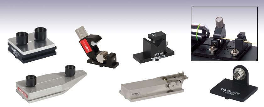 Multi Axis Stage Accessories Fiber Clamps And Adapters