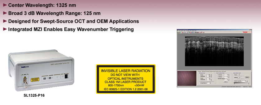 Rapidly Swept Tunable Laser