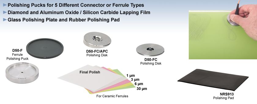 Fiber Polishing Supplies