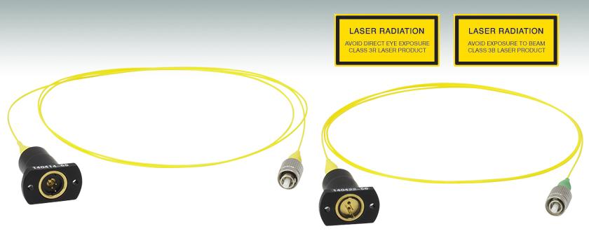 Pigtailed Laser Diodes Single Mode Fiber