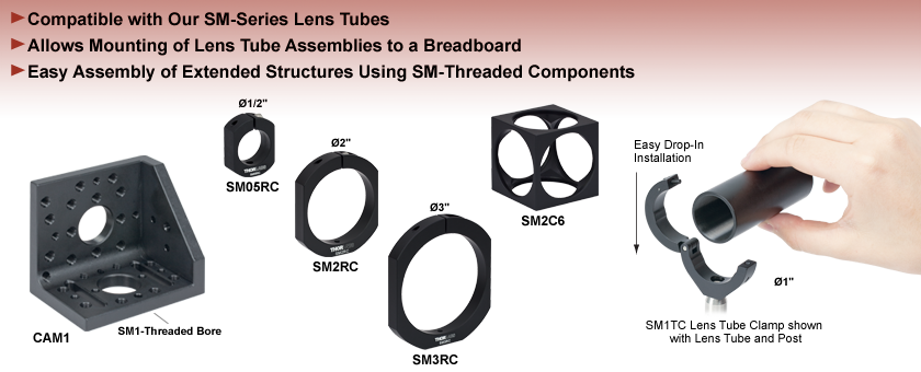 Lens Tube Mounts
