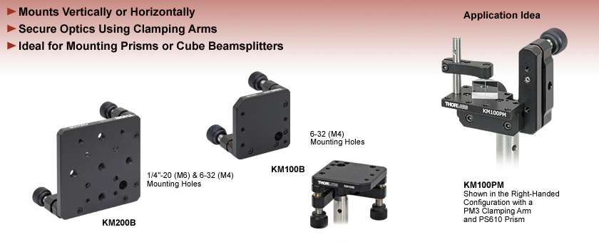 Kinematic Platform Mounts