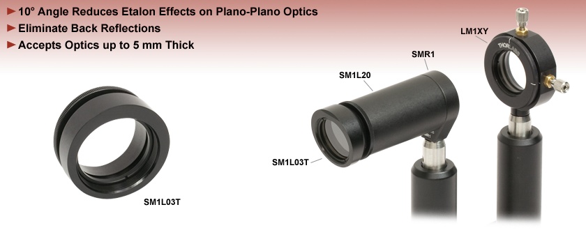SM Series Angled Optic Mounts