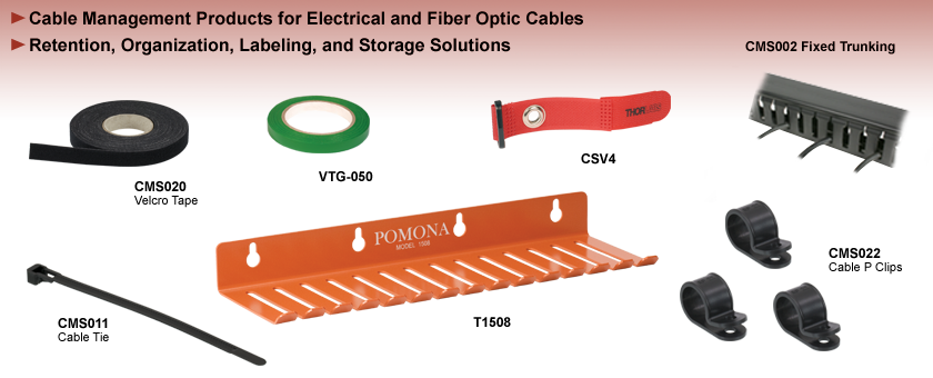 Electrical and Fiber Optic Cable Management