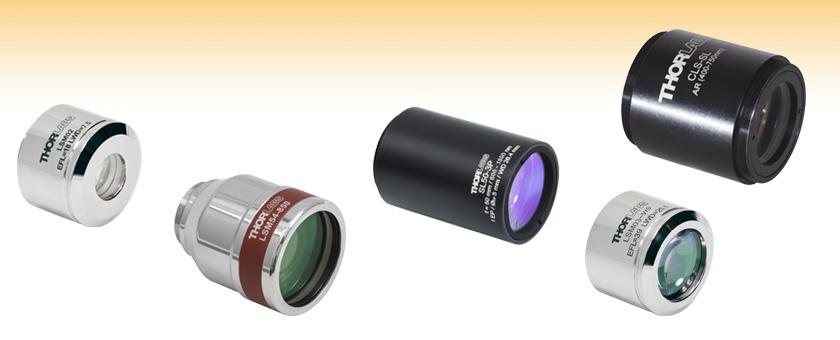 Scan Lenses for Laser Scanning Microscopy