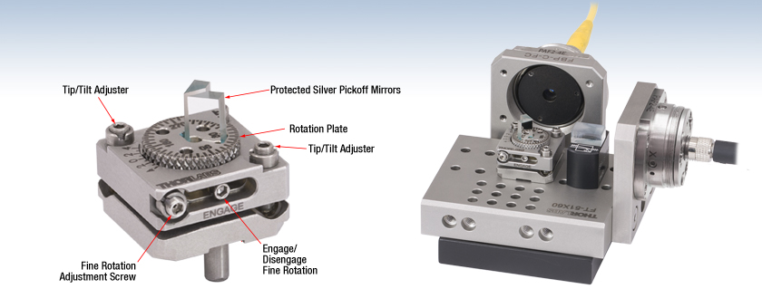 Fiberbench Adjustable Offset Mirror Module