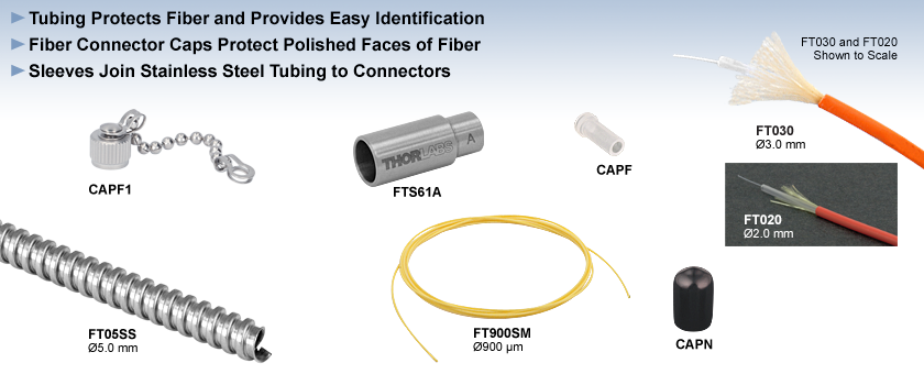 Furcation Tubing, Sleeves, and Connector Caps