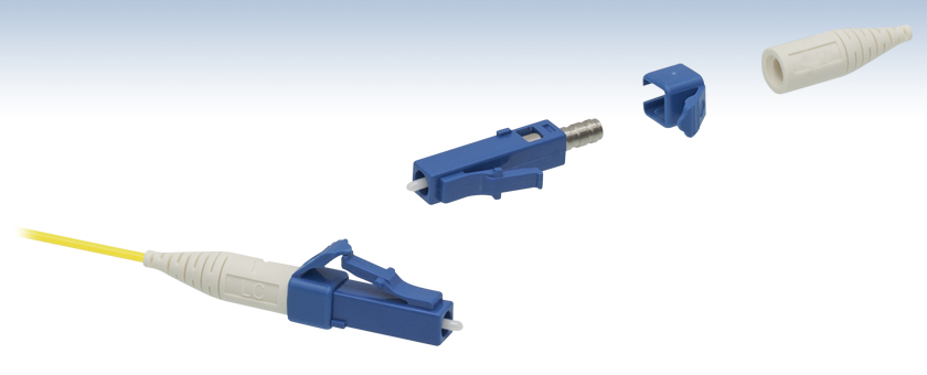 Lc Pc Fiber Connectors Single Mode