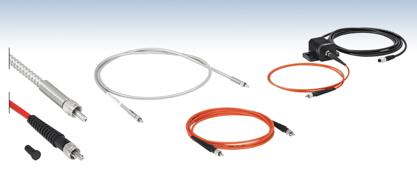 Step-Index Multimode Fiber Optic Patch Cables: SMA to SMA