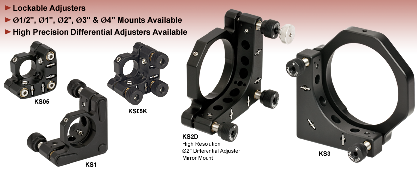 Precision Kinematic Mirror Mounts