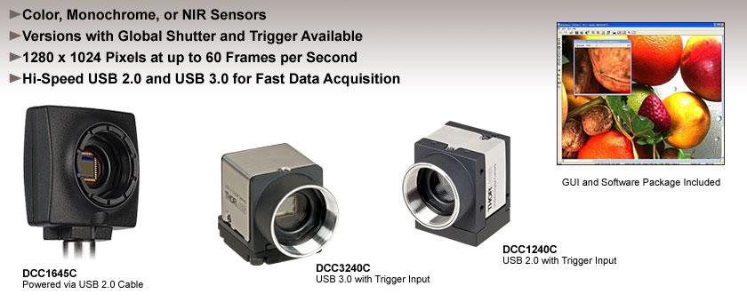 CMOS Cameras: USB 2.0 and USB 3.0