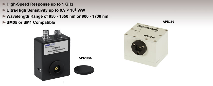 InGaAs Avalanche Photodetectors