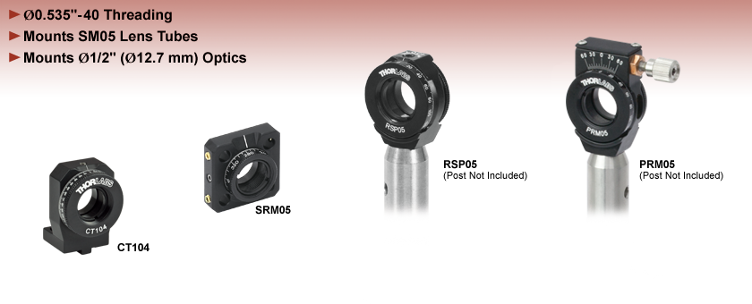 SM05 Compatible Rotation Mounts