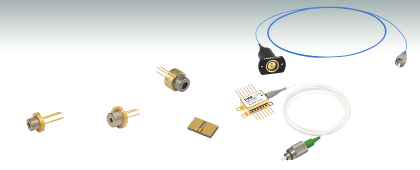 NIR Laser Diodes: Center Wavelengths from 705 nm to 2000 nm on