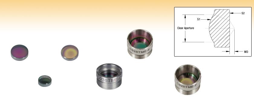 Molded IR Aspheric Lenses