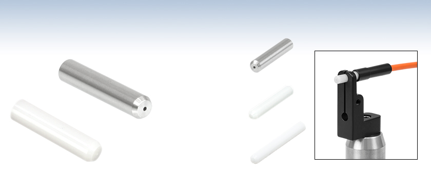 Stainless Steel And Ceramic Fiber Optic Ferrules