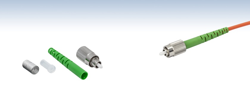 Fc Apc Fiber Connector Multimode Ceramic Ferrule
