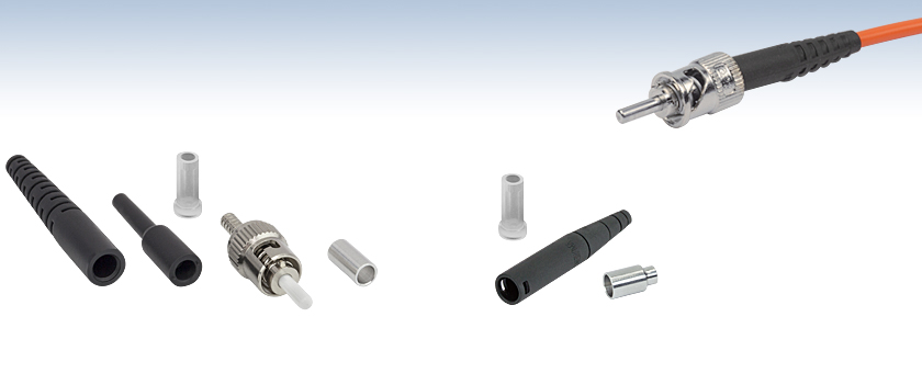 St Pc Fiber Connectors Multimode Stainless Steel Or