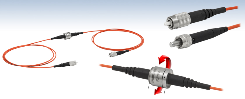 Multimode Fiber Optic Rotary Joint Patch Cables