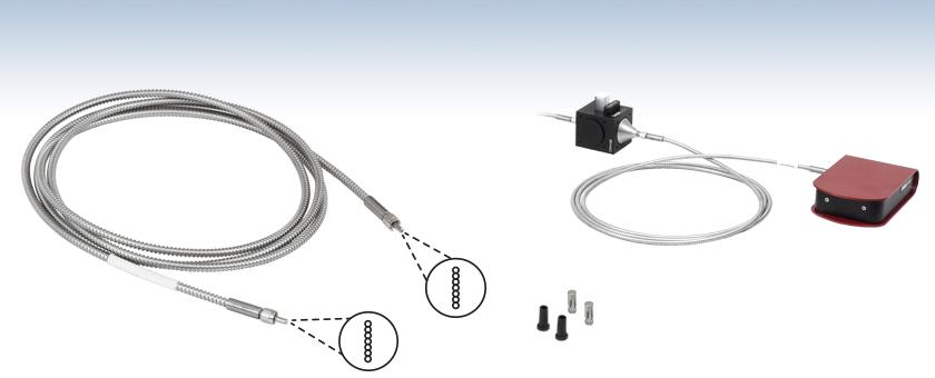 Linear To Linear Fiber Optic Bundles