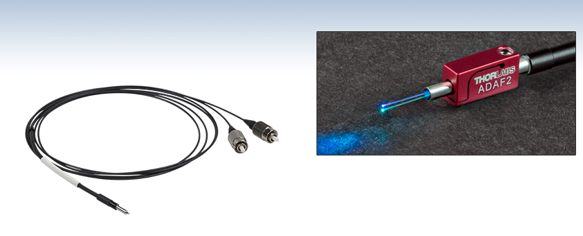 Dual Core Cables : Dual core multimode fiber patch cables for optogenetics
