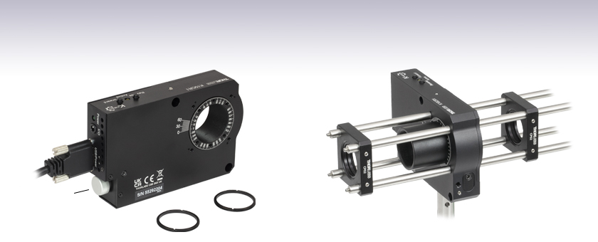 Stepper motor rotation mount for Stepper motor control system