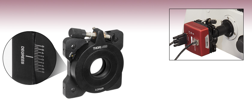 Rotation Mount for Scientific Cameras