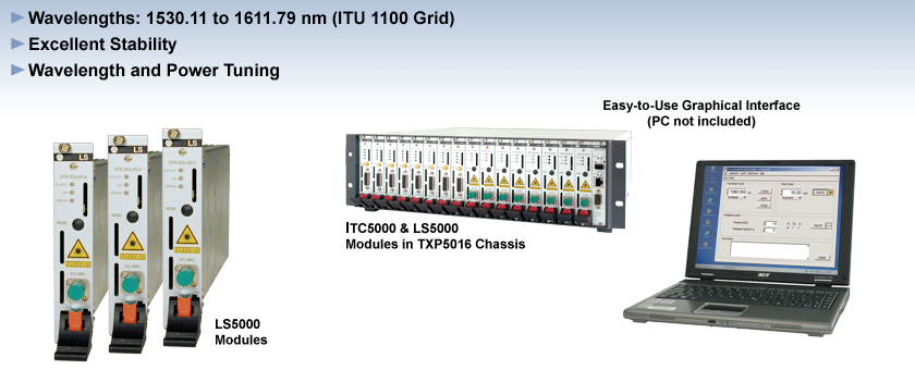DWDM Laser Sources - LS5000