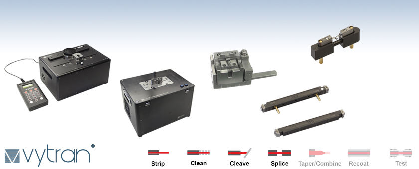 Vytran® Stand-Alone Fusion Splicer and Preparation Stations: SM, MM