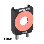 FiberBench Slim Photodiode Mount