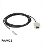D-Type-to-LEMO Piezo Feedback Cable
