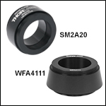 Mechanical Adapters for TTL200 and ITL200 Tube Lenses<br>