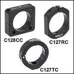 Slip Rings and Clamps for Aluminum Lens Tube Covers