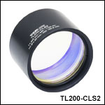 f = 200 mm Tube Lenses for Laser Scanning and Widefield Imaging<br>