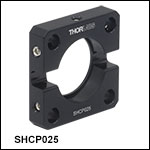 Mounting Adapter forØ1/4inDiaphragm Shutters
