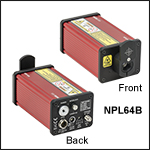 Pulsed Lasers with Adjustable Pulse Width: 5 - 39 ns, Pulse Energy: 1.2 - 3 nJ