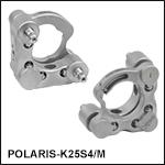 Polaris<sup>®</sup> Ø25 mm Kinematic Mirror Mount, 2 Adjusters<br>