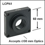 SM30-Threaded Cage Plates with Dovetails for Ø30 mm Optics<br>