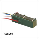 150 V Co-Fired Actuator with Attached Strain Gauges