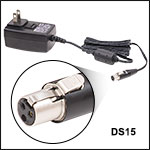 Replacement 15 VDC Regulated Power Supply