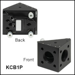 Right-Angle Kinematic Cage Mount for Parabolic Mirrors