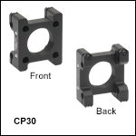 30 mm to 30 mm Cage System Right-Angle Adapter