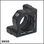 Ø1/2in Compact Kinematic Mirror Mount