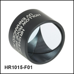 Round Retroreflecting Hollow Roof Prism Mirrors, Mounted